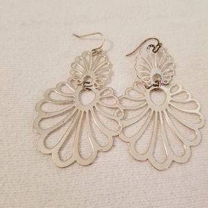 Accessories - Silver tone earrings